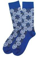 Cufflinks Inc. Marvel Comic Favorites Socks - Blue Cotton Socks