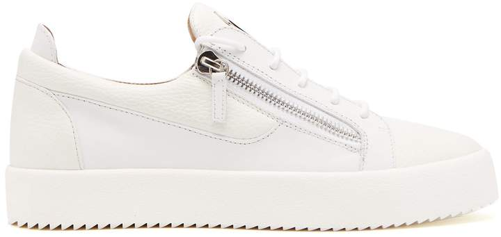 Giuseppe Zanotti Double low-top leather trainers