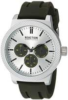 Kenneth Cole Reaction Men's 'Sport' Quartz Metal and Silicone Casual Watch, Color:Green (Model: 10031944)