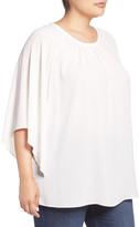 Vince Camuto Kimono Sleeve Blouse (Plus Size)
