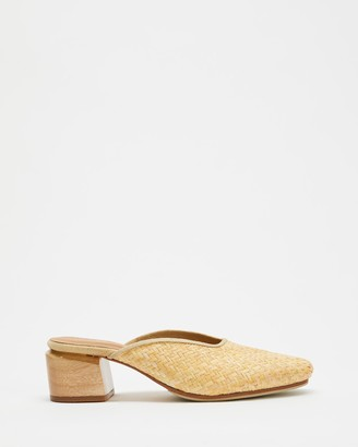James Smith Cafe Society Woven Mules