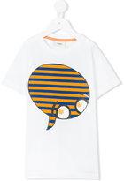 Fendi face print T-shirt - kids - Cotton - 6 yrs