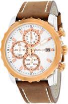 Roberto Bianci Mens Brown Bracelet Watch-Rb54471