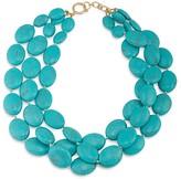 """Lauren Ralph Lauren Multi-Strand Beaded Statement Necklace, 18"""""""
