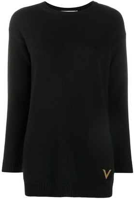 Valentino Vgold knitted jumper