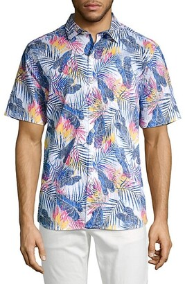 Tommy Bahama Pavia Palms Short-Sleeve Shirt