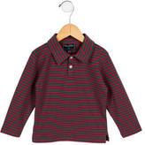 Oscar de la Renta Boys' Striped Polo Shirt w/ Tags