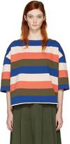YMC Multicolor Oversized Agnes T-shirt