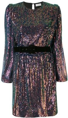 Rebecca Vallance Sequin Embellished Short Dress