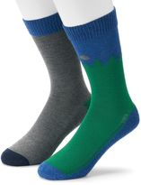 Levi's Men's 2-pack Forest & Solid & Cushioned Crew Socks