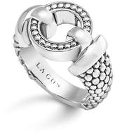Lagos Sterling Silver Beaded Ring