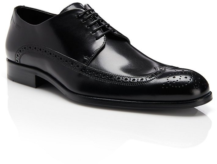 HUGO BOSS 'Fittos' | Italian leather Lace-Up Oxford by BOSS