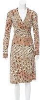 Leonard Printed Midi Dress w/ Tags