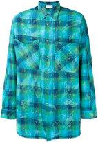 Faith Connexion checked shirt - men - Silk/Cotton - XS