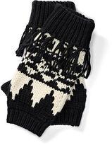 Ralph Lauren Geometric Fingerless Gloves