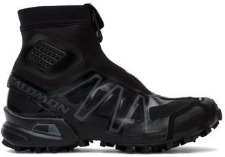 Salomon Black Snowcross Advanced Sneakers