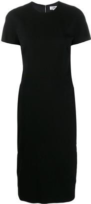 Victoria Beckham Short-Sleeve Midi Dress