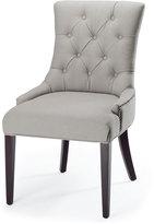"Horchow ""Amanda"" Linen Dining Chair"