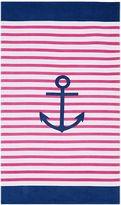 Pottery Barn Kids Anchor Stripe Adult Beach Towel