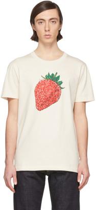 Lanvin Off-White Strawberry T-Shirt