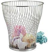 Zodiac Chrome Wire Waste Paper Basket