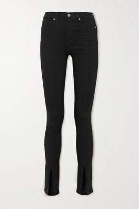 Veronica Beard Kate High-rise Skinny Jeans - Black