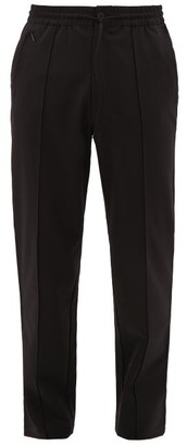 Y-3 Drawstring Wool-blend Trousers - Black