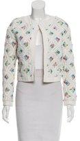 Manoush Embroidered Long Sleeve Jacket