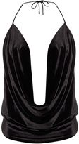 Bardot Sleeveless Drape Cowl Neck Cami Top