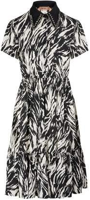 N°21 N 21 Printed midi-dress