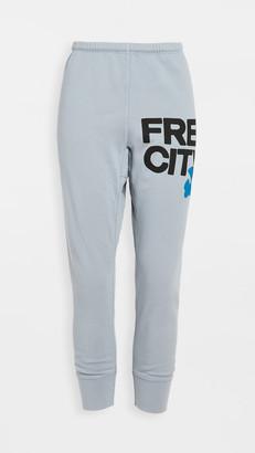 Freecity Large 3/4 Sweatpants