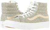 Vans SK8-Hi Slim Frost Gray/True White) Skate Shoes