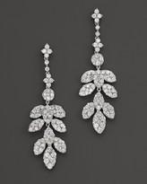 Bloomingdale's Diamond Leaf Drop Earrings in 14K White Gold, 2.45 ct. t.w. - 100% Exclusive