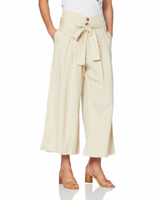 Silvian Heach Women's Crop Pants Pico Trouser