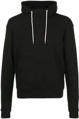 John Elliott Funnel-Neck Hooded Sweatshirt