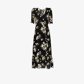 Reformation Celeste floral dress