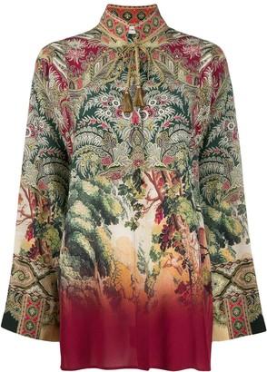 Etro tassel detail shirt