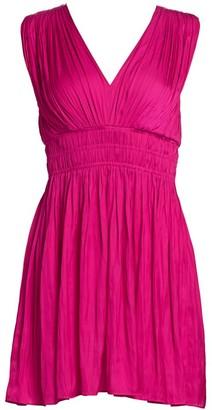 Ramy Brook Burgam Empire Mini Dress