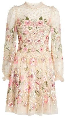 Needle & Thread Rosalie Embellished Mini Dress