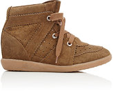 Etoile Isabel Marant Women's Bobby Wedge Sneakers-TAN
