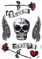 Freestyle 27 in. x 19 in. Calavera Wall Decal
