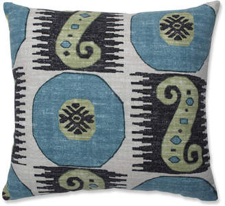 Souk Pillow Perfect Indoor Treasure Indian Blue 16.5-inch Throw Pillow