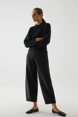 Cos Knitted Merino Wool Trousers