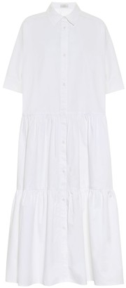 Co Cotton midi shirt dress