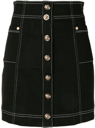 Alice McCall Rock With You stitch detail skirt