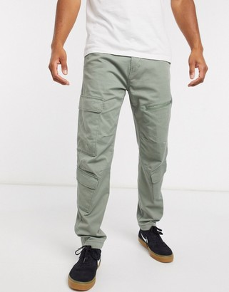Levi's lo-ball utility cargo trousers in sea spray beige