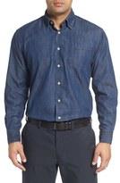 Robert Talbott Men's 'Anderson' Classic Fit Denim Sport Shirt