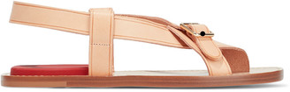 Acne Studios Biana Buckled Leather Sandals