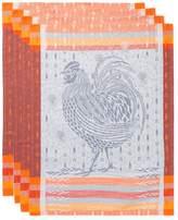 Garnier Thiebaut Garnier-Thiebaut Coq Design Cotton Kitchen Towels (Set of 4)