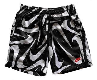 Nike Black Polyester Swimwear